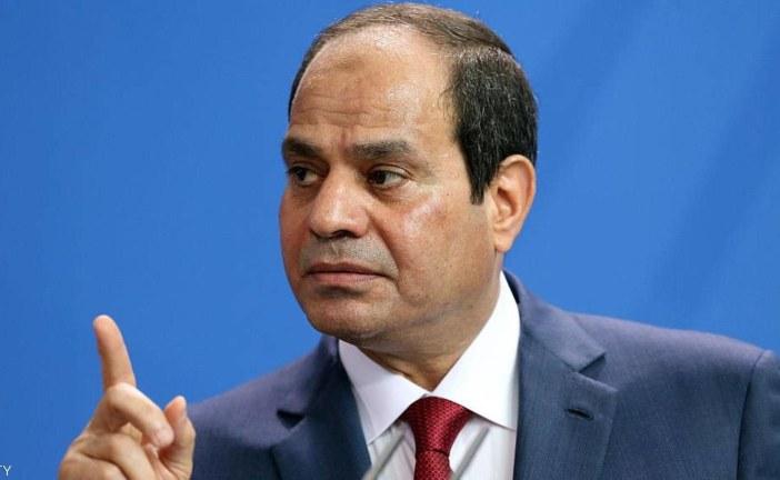 السيسي يحذر: أمن مصر القومي يرتبط بأمن محيطها الإقليمي