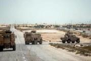 مصر: مقتل إرهابيين في عملية أمنية شمال سيناء