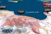 """السيسي : محور """"سرت-الجفرة"""" في ليبيا خط أحمر"""