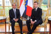 الرئاسة المصرية: توافق بين السيسي وماكرون حول إعلان القاهرة ودعم الجيش الليبي في مكافحة الإرهاب والجماعات المسلحة