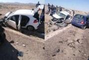قابس: وفاة شخصين واصابة 8 اخرين في حادث اصطدام بالطريق الوطنية بين الحامة وقبلي