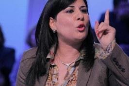 عبير موسى: سنقاضي وزير الداخلية الأسبق فرحات الراجحي
