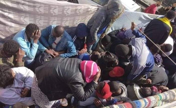 نابل : إحباط عملية لإجتياز الحدود خلسةو إلقاء القبض على 12 نفرا من جنسيات أفريقية