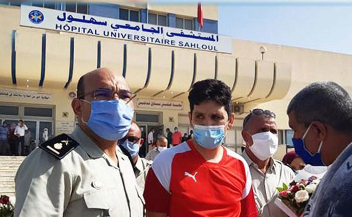 سوسة : الوكيل رامي الإمام يغادر مستشفى سهلول