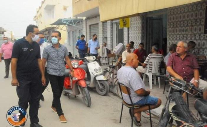 دار شعبان الفهري :حملة لتطبيق الإجراءات الوقائية التي ينص عليها البروتوكول الصحي