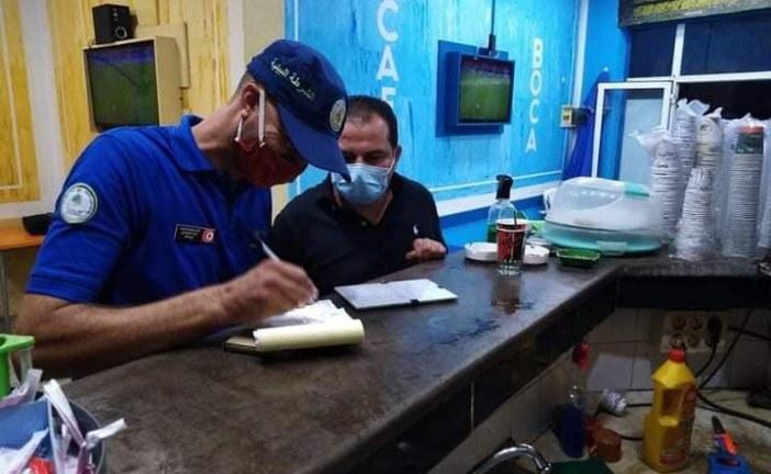 نابل: حملة لشرطة البلدية والبيئية  في اطار التوقي من فيروس كورونا في تونس