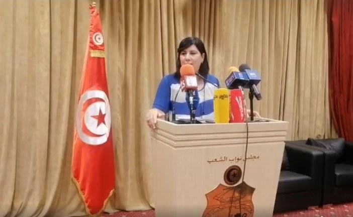 عبير موسي: الدولة ترعى الإرهاب وسنلجأ للشكايات الدولية