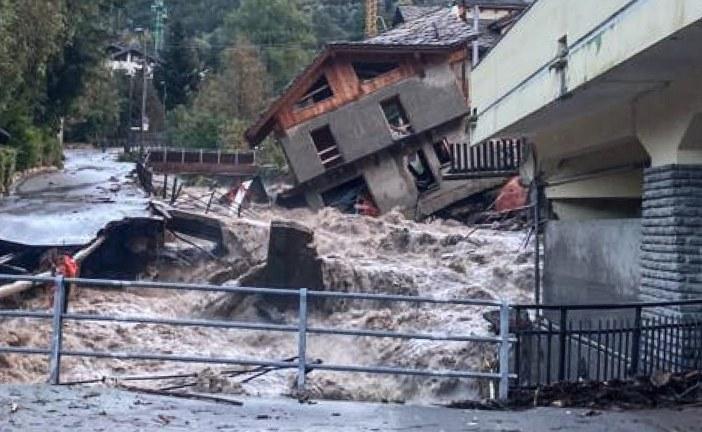 دمار وقتلى وعشرات المفقودين بعد عاصفة كارثية ضربت فرنسا وإيطاليا