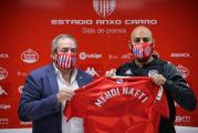 نادي لوغو الإسباني يقدم مدربه الجديد مهدي النفطي