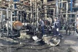 بنزرت: السيطرة على حريق بمصنع تكرير الزيوت