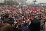 سوسة:وقفة احتجاجية للحزب الدستوري