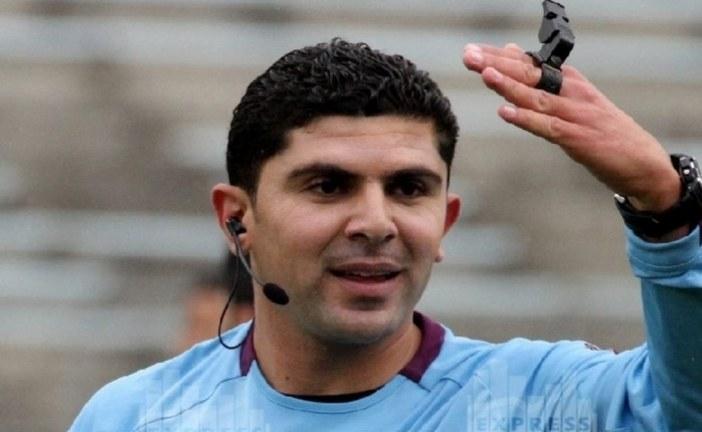 هيثم القصعي يدير لقاء النادي الافريقي والنادي الصفاقسي