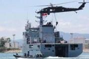 تمرين بحري مشترك تونسي يوناني من أجل التدريب على التنسيق في مواجهة الأعمال غير المشروعة بالبحر
