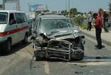 المرصد الوطني لسلامة المرور:9 قتلى و43 جريحا نتيجة حوادث المرور خلال نهاية الأسبوع المنقضي