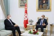 برنامج الاصلاح الاقتصادي محور لقاء رئيس الحكومة وسفير فرنسا بتونس