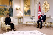 سعيد يدعو في لقائه وزيرة الخارجية الليبية الى بناء علاقات تعاون نموذجية وفق تصورات وآليات غير تقليدية
