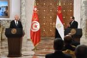 قيس سعيّد: موقف مصر في أي محفل دولي سيكون هو نفسه موقف تونس في ما يتعلق بمسألة التوزيع العادل لمياه النيل