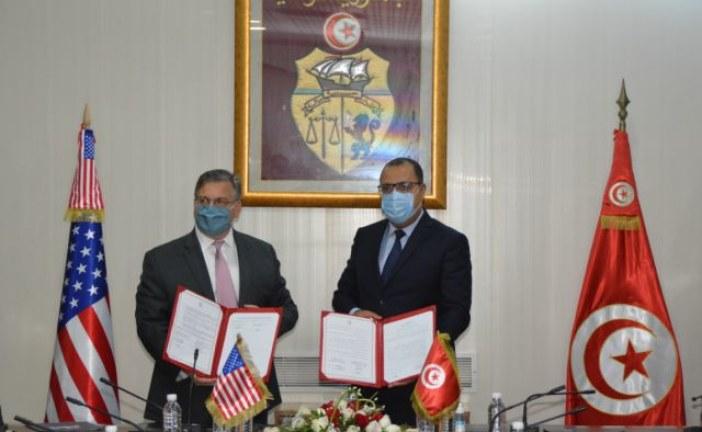 إمضاء مذكرة تفاهم بين وزارة الداخلية والسفارة الأمريكية بتونس لتطوير مستوى التعاون الأمني بين البلدين