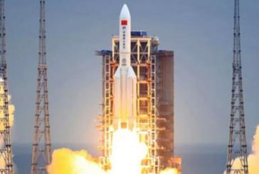 من المتوقع سقوط الصاروخ الصيني غدا الاحد شرق القارة الآسيوية