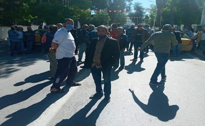 الكاف: تحركات احتجاجية للتجار والعاملين في قطاع النقل للمطالبة بالتراجع عن قرار الحجر الصحي الشامل