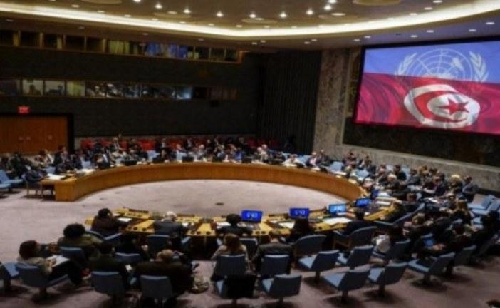 بطلب من تونس.. انعقاد جلسة ثانية لمجلس الأمن اليوم، لتدارس تطورات الأوضاع على الأراضي الفلسطينية