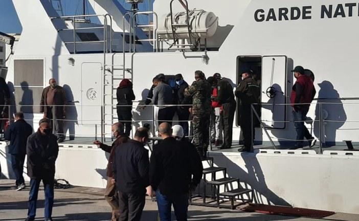 سوسة: ضبط 27 شخصا بصدد اجتياز الحدود البحرية خلسة من بينهم المتهم الرئيسي في عملية باردو الإرهابية