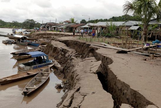 زلزال بقوة 5.8 درجة يضرب قرب ساحل بيرو