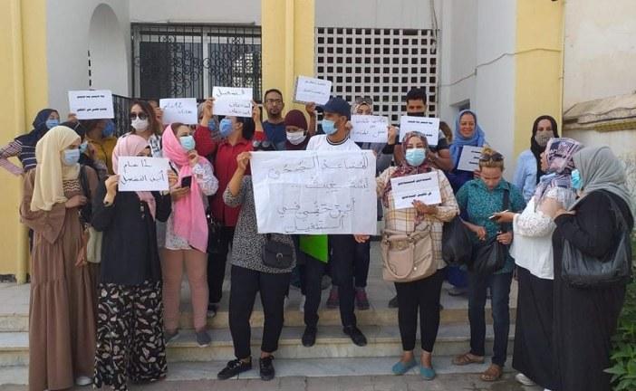 القصرين : مساعدو الصحة العاطلين عن العمل بالجهة يطالبون بحقهم في الانتداب