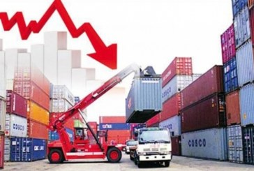 عجز الميزان التجاري يزيد ب13،74 بالمائة خلال الاشهر الثمانية الأولى مقابل تحسن نسبة التغطية ب1،6 نقطة