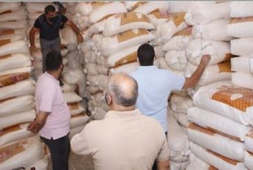 قفصة: حجز 30 طنا من السميد الغذائي و6 أطنان من الفارينة الرفيعة والعجين الغذائي