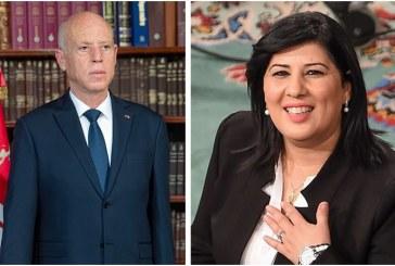 نوايا التصويت في الرئاسية:قيس سعيد الاول وعبير موسي الثانية