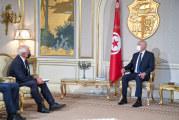 رئيس الجمهورية:التأكيد خلال لقاءات سائر الوفود الأجنبية على ان تونس ذات سيادة ولا مجال للتدخل في اختياراتها