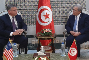 سفير الولايات المتحدة يؤكد مواصلة دعم بلاده لتونس على جميع الأصعدة