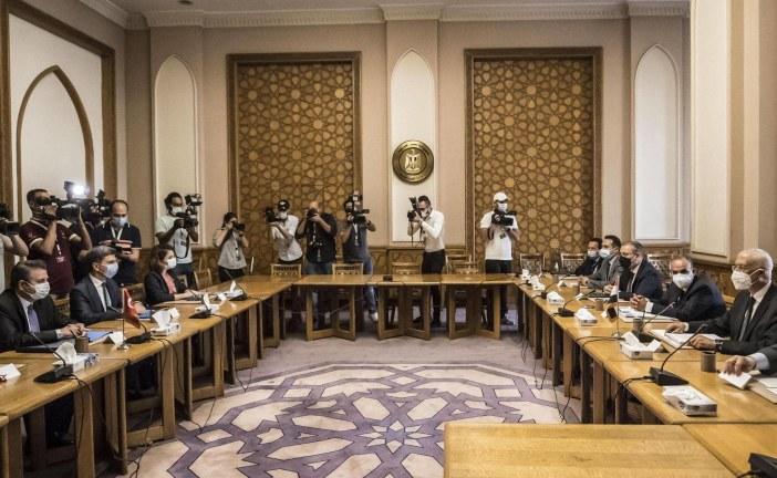 جولة جديدة من المباحثات بين مصر وتركيا