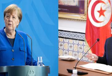 ميركل تؤكد استعداد الحكومة الألمانية مواصلة دعم تونس