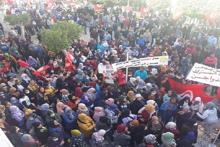 إضراب عام في القطاع الخاص بصفاقس:اتحاد الشغل يتجه الى تعميم الإضرابات على باقي الولايات في الفترة القادمة
