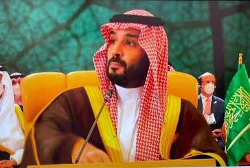ولي العهد السعودي يعلن عن تأسيس مبادرتين للمناخ بقيـمة 39 مليار ريال