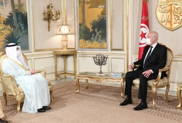 """سعيّد لدى استقباله وزير خارجية الكويت: """"تونس تعوّل على قدارتها الوطنية وتتطلع إلى الدعم من قبل الأشقاء والأصدقاء"""""""