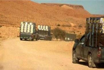 وحدات الحرس بالقيروان والقصرين تحجز بضاعة مهربة قيمتها 325 ألف دينار