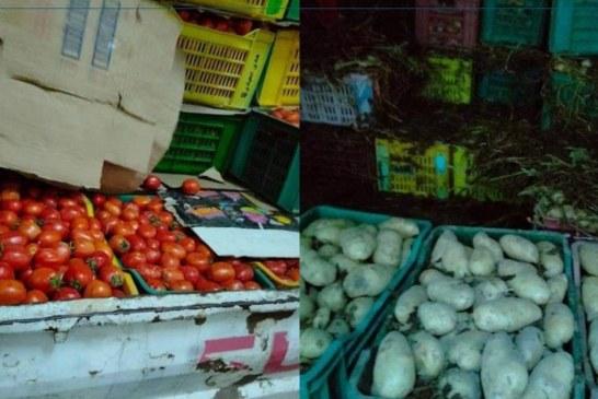 القصرين: حجز حوالي 5 أطنان من البطاطا والطماطم