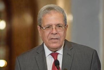 """وزير الخارجية .. """" رئيس الجمهورية يقوم بمشاورات لرسم معالم المرحلة القادمة ولائحة البرلمان الأوروبي فيها جوانب لا تنطبق على تونس"""""""