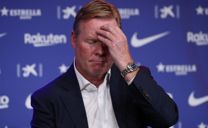 برشلونة يقيل المدرب كومان